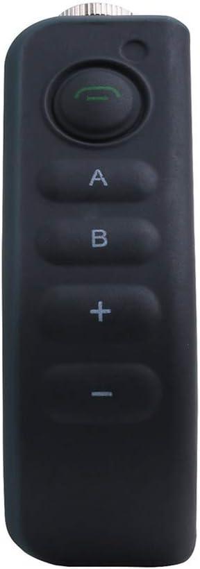 Plus Bluetooth intercomunicador del Casco de Auriculares Interphone por E6 E6 A Manillar de la Motocicleta Accesorios de Control Remoto Original N