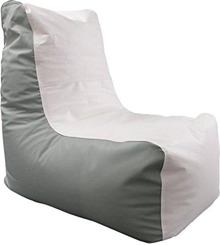 (Ocean-Tamer Wedge Marine Bean Bag (White/Med Gray))