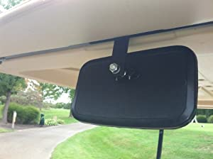 Golf Cart Rear View Mirror for Ez Go, Club Car, Yamaha
