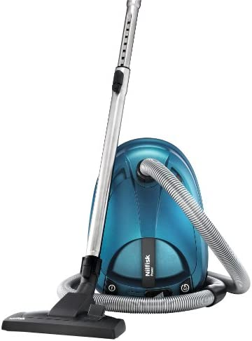 Nilfisk Power Allergy New - Aspiradora (2000W, 550W, 220-230V, Cilindro, Dust bag, metal) Azul: Amazon.es: Hogar