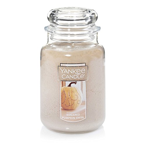 Yankee Candle Sugared Pumpkin Swirl Large Jar ,Food & Spice -