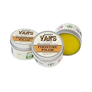 Daddy Van's Natural Unscented Beeswax Furniture Polish
