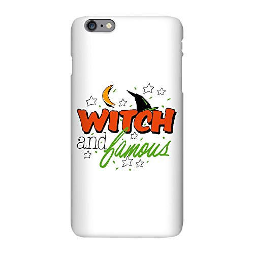 iPhone 6 Plus Slim Case Halloween Witch and Famous Hat ()