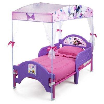 デルタ ディズニー ミニーマウス キャノピー付き 子供用 ベッド 女の子 2歳から bb87165mn B00K1ZC82C Parent