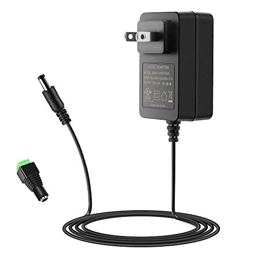 SHNITPWR 5V 3A Power Supply UL Listed 100~240V AC to DC Adapter Converter 5 Volt 3 Amp 15W Wall Charger with 5.5x2.5mm Tip for WS2812B LED Pixel TV Box Raspberry Pi Arduino, Level VI Energy Efficiency