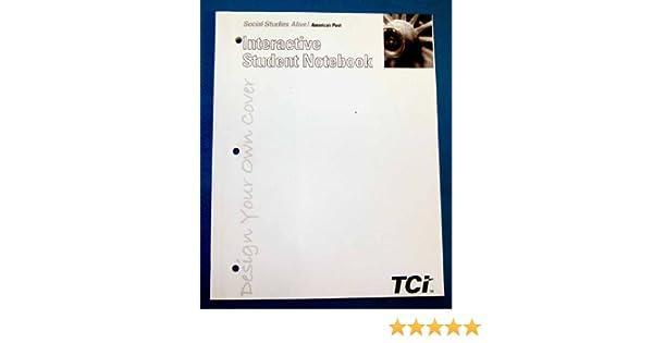 Social Studies Alive Interactive Student Notebook