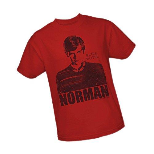 Norman -- Bates Motel Adult T-Shirt, XXX-Large