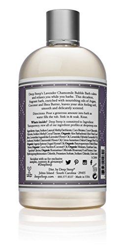 Deep Steep Bubble Bath, Lavender Chamomile, 17 Ounces by Deep Steep (Image #1)