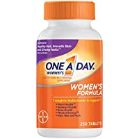 One A Day Women's Formula Multivitamin Multimineral Supplement Tablets 250 Count
