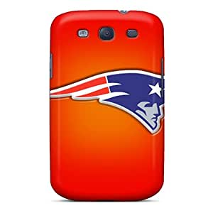 Premium HrI430Ysgp Case With Scratch-resistant/ New England Patriots Case Cover For Galaxy S3