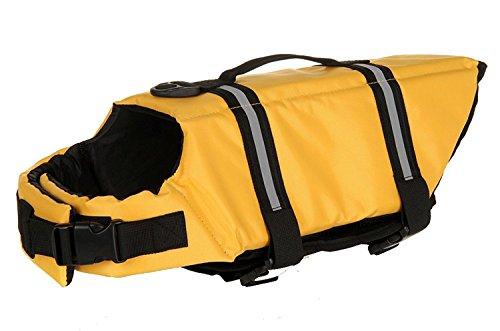 PESTON Dog Pet Puppy Boat Saver Life Jacket Vest Reflective Strip by PESTON