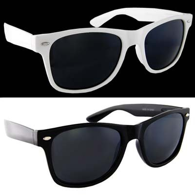 Amazon.com: Lot 2 Black Clear Lens and White Dark Lens: Shoes