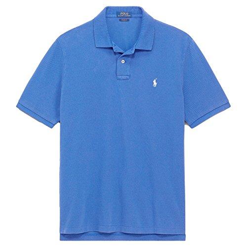 Polo Ralph Lauren Mens Polo Rugby Custom Slim Shirt Blue 2XL