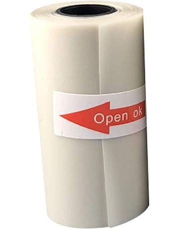Vimbhzlvigour Home Office Gadgets - Rollo de papel de impresión térmica semitransparente para impresora de fotos