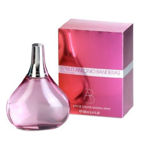 (SPIRIT Perfume by Antonio Banderas EDT SPRAY 3.4 OZ For Women)
