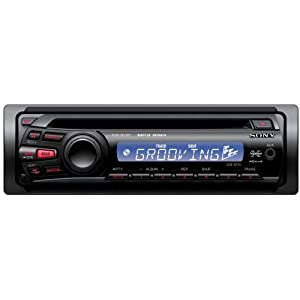 Sony CDX-GT25MPW In-dash CD/MP3 Car Receiver