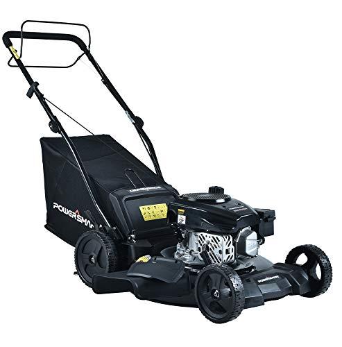 "PowerSmart DB8621SR 21"" 3-in-1 170cc Gas Self Propelled Lawn Mower"