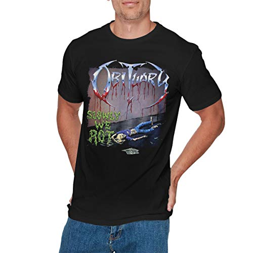 GEORGE MANNING Mens Funny Obituary T Shirts 3XL