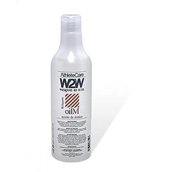 W2W Aceite de Árnica Medicinal para Masaje Deportivo - 500 ml: Amazon.es: Salud y cuidado personal