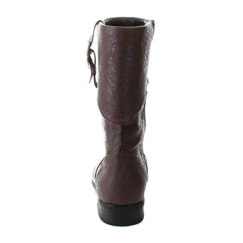 Funtasma CARRIBEAN-199 Brown Distressed Pu Size UK 42286 EU
