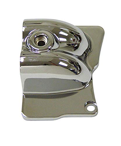 V-Factor Chrome Oil Line Nacelle Cover for Harley FLT Models 99-06 ()