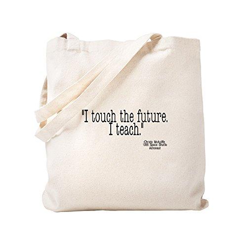 Tote Cachi Tela Cafepress Small I Toccare Teach Futuro Il qqX4wY0