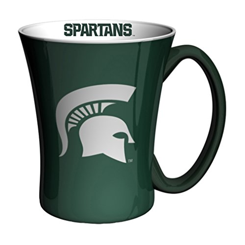 Michigan State Spartans Mug (NCAA Michigan State Spartans Victory Mug, 14-Ounce, Green)