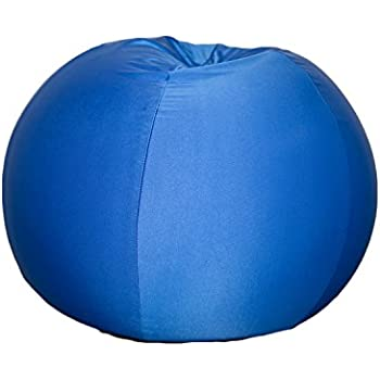 Blue Bean Bag Chair For Kids With Removable Machine Washable Cover