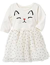 Adorable Kittycat Tutu Dress for Baby Girls 18-24M Included!