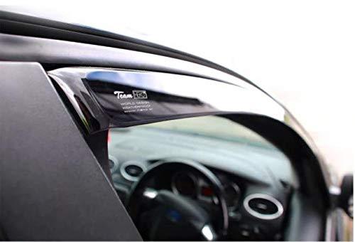 5 Doors Model Only Pair Front Wind Deflectors Rain Guards Tinted Heko WD25386-10325