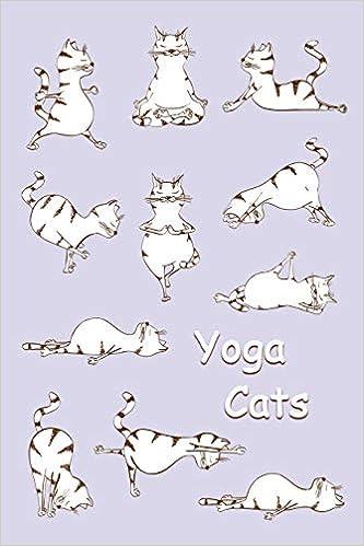 Journal: Yoga Cats (Purple) 6x9 - GRAPH JOURNAL - Journal ...