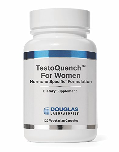 Douglas Laboratories - Testo Quench for Women - Supports Skin, Hair, Heart, and Testosterone Sensitive Tissues in Women* - 120 Capsules