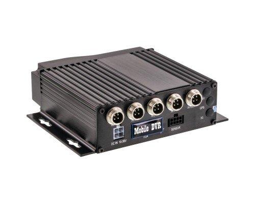 Accele DVR720P AHD 720p 4-Channel Mobile DVR with Motion Sensor Recording