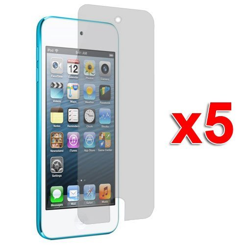 5X Clear LCD Screen Protector Cover Films for New iPod Touch 7 Gen 7th/5th Generation 5G 5 (Screen Lcd Ipod Touch 5g)