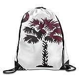 NOLIEE South Carolina Flag Cool Gym Drawstring Bags Travel Backpack Tote School Rucksack