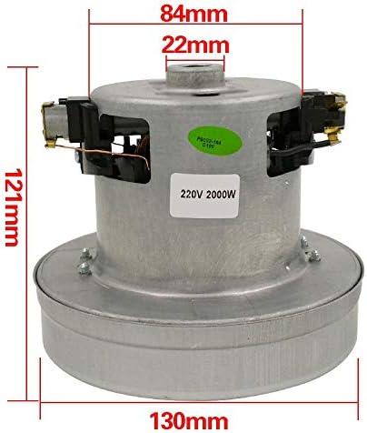 أجزاء مكنسة كهربائية ZINNI-Vacuum Cleaner - 220 فولت -240 فولت 2000 واط مكنسة كهربائية عالمية قوة كبيرة قطرها 130 ملم مكنسة كهربائية ملحق قطع غيار مجموعة استبدال