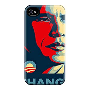 High Quality AlexandraWiebe Barack Obama Skin Cases Covers Specially Designed For Iphone - 6