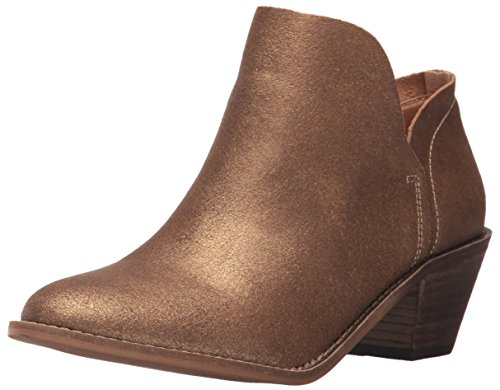 Kelsi Dagger Brooklyn Women's Kenmare Ankle Boot, Bronze, 9 Medium US Bronze Ankle Boot