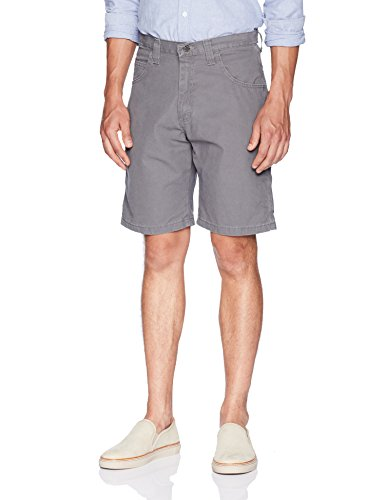 Wrangler Authentics Men's Classic Carpenter Short, rock gray 40