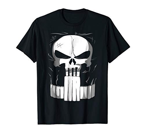 Marvel Defenders Punisher Suit Costume Graphic T-Shirt ()