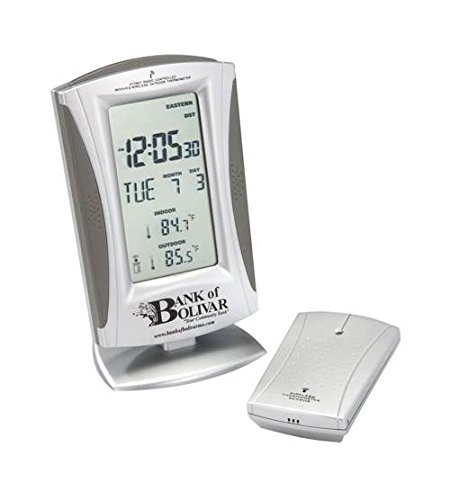 Chass True Time and Temp Wireless Weather Station Radio Control Clock