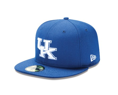59 50 Fitted Hats (NCAA Kentucky Wildcats College 59Fifty, Blue, 7 )