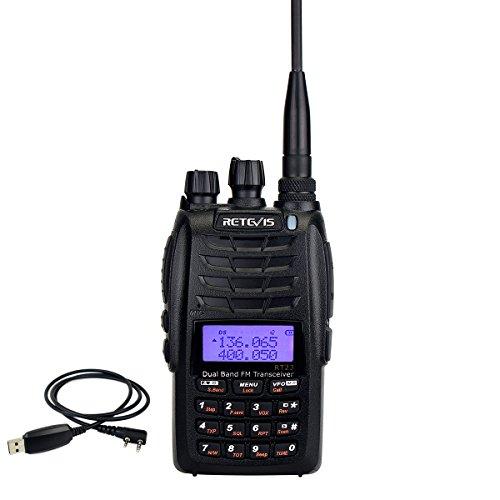 Retevis RT23 Two Way Radio Dual PTT 5W 128 CH VHF/UHF 136-17