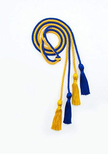 National Honor Society Honor Cords - Royal Blue and Gold (For Honor Best Class)