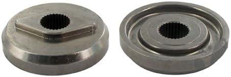 Adattatore lama per tosaerba autoportante da 102 cm per asse di cuscinetto scanalato e lama con foro a forma di rombo