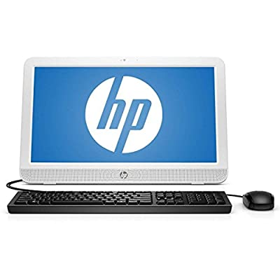 2017 HP Pavilion 19.5 Inch All-in-One Premium Flagship Desktop (AMD E1-6010 1.35GHz, 4GB RAM, 500GB HDD, Wifi, DVD, Windows 10 Home) (Certified Refurbished)