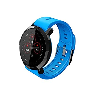 YLSYC Fitness tracker Bluetooth smart heart rate sleep monitoring bracelet IP67 waterproof sports calorie counting wristband Estimated Price £45.12 -