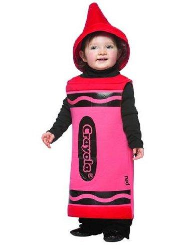 Toddler Red Crayon Costumes (Rasta Imposta Crayola Toddler Costume, Red, 18-24 Months)