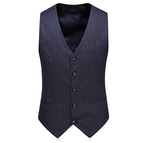 3pcs Veste Gilet Party Mariage Costume Gris Homme Costard Pantalon Blazer Smoking q4xvOA