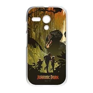Motorola G Cell Phone Case White Dinosaur Poster YW5938317